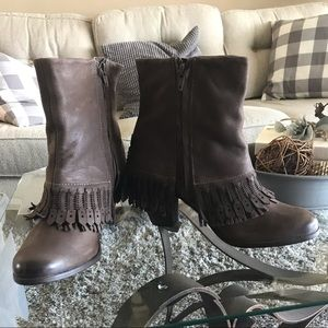 Naughty Monkey Leather Boots NWOT